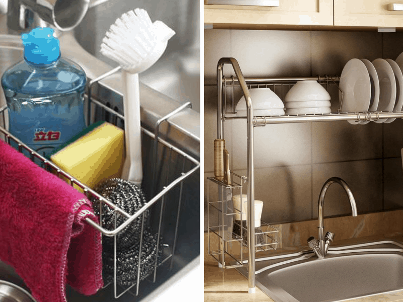 12 Amazing Kitchen Sink Organization Ideas Live Better Lifestyle