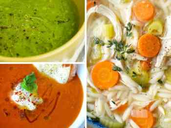 Super Easy and Healthy Soup Recipes You'll Need When You're Sick