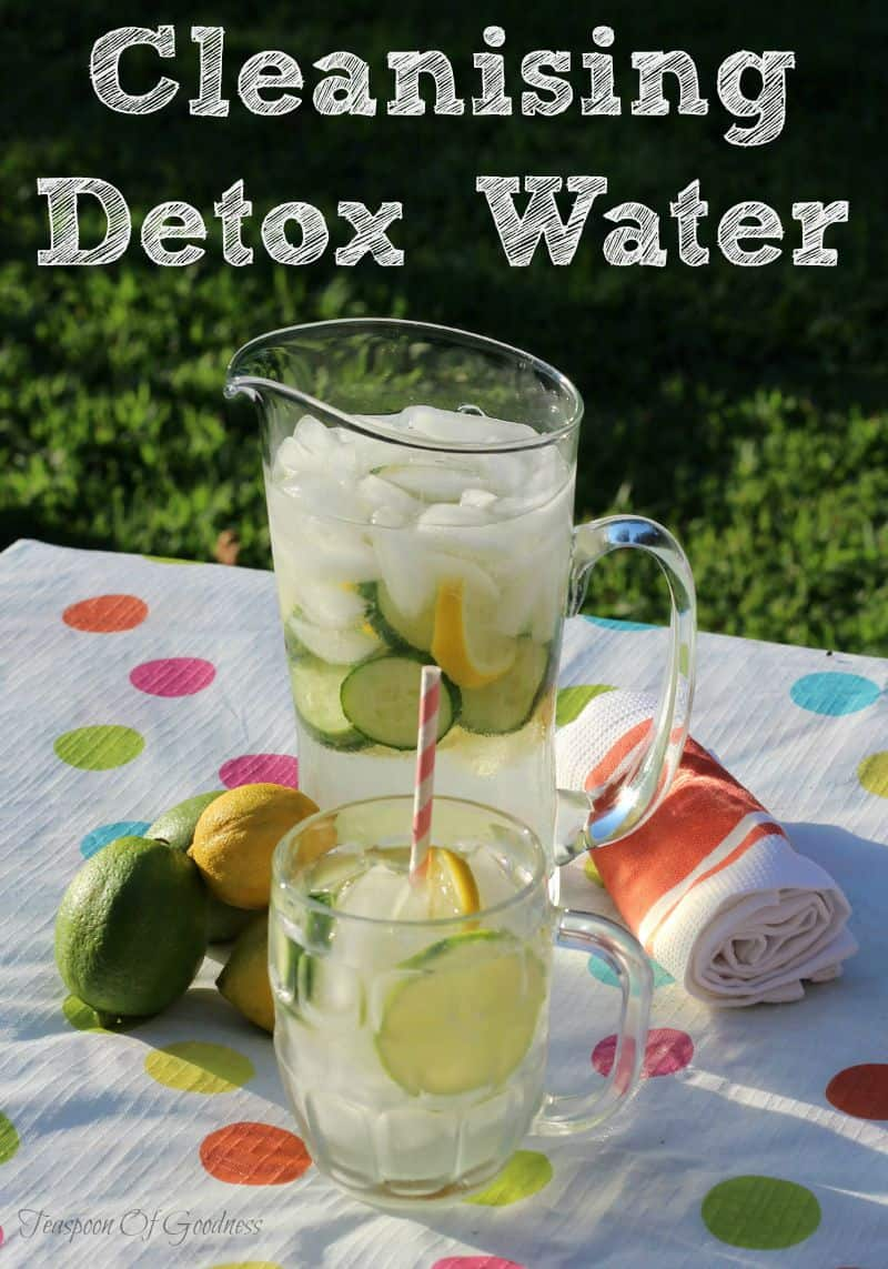 refreshing detox water recipes for weight loss and cleansing