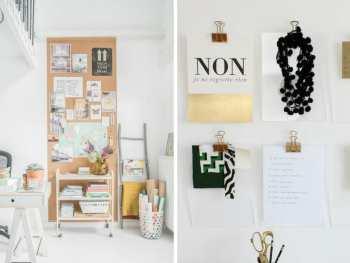 brilliant home office wall organization ideas