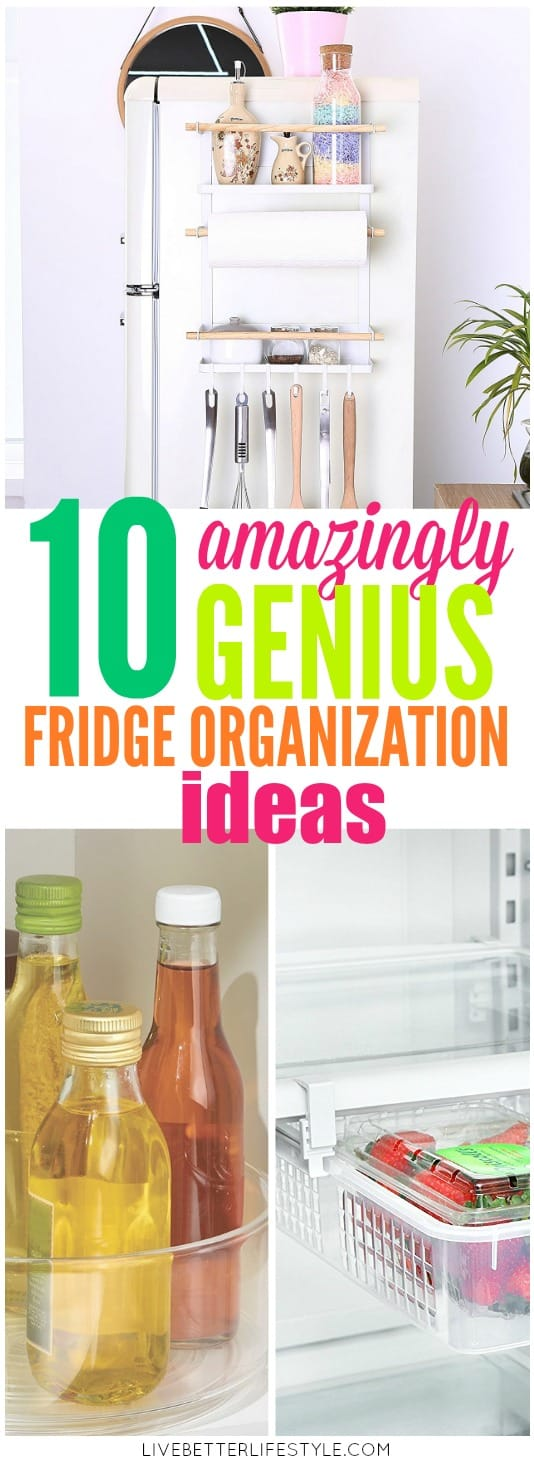 Amazingly Genius Fridge Organization Ideas