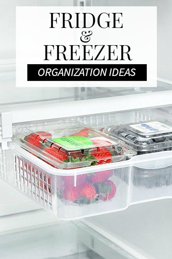 Amazingly Genius Fridge Organization Ideas