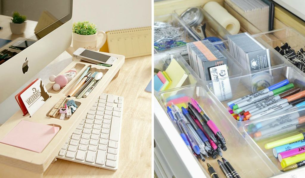 13 Ridiculously Smart Home Office Desk Organization Ideas Live