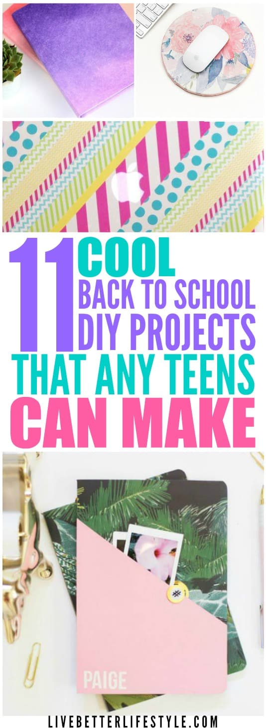 Awesome Back to School Diys for Teens