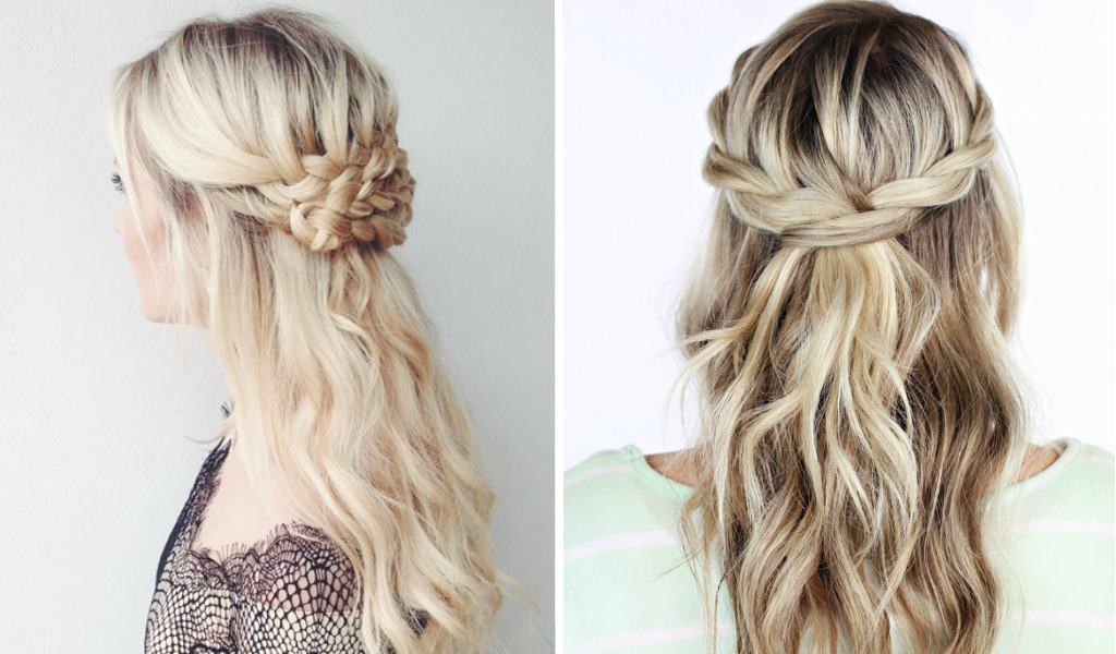 10 Easy Braided Hairstyles For A Party