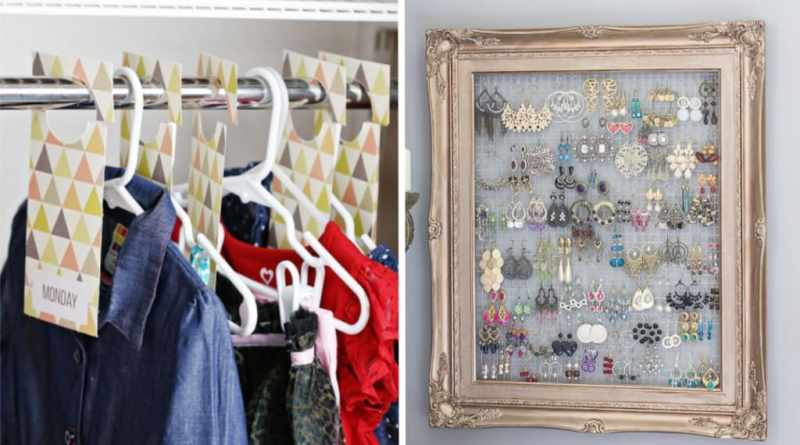 mind-blowing hacks to organize your closet