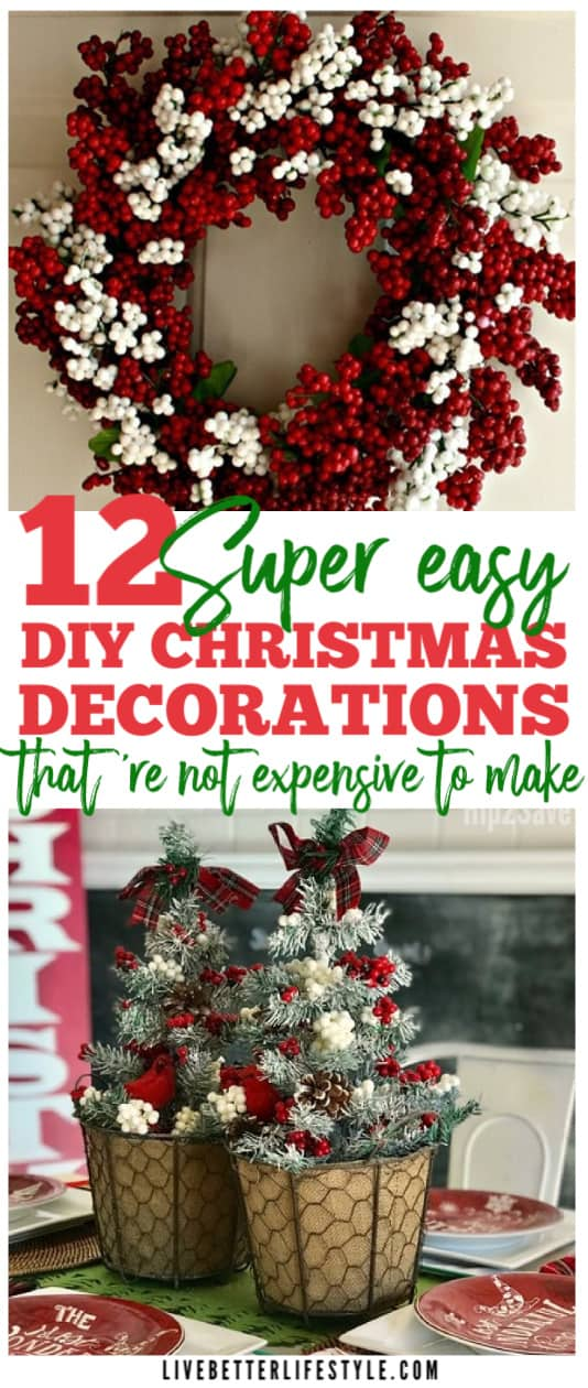 Easy Christmas Decor Ideas That Are Budget-Friendly