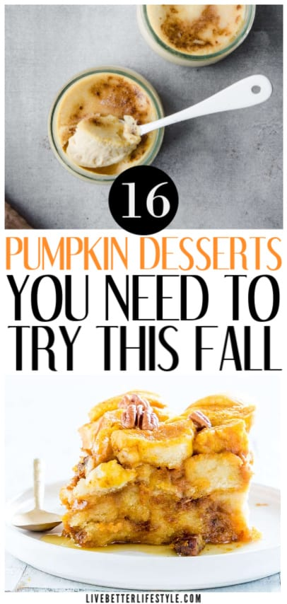 Easy pumpkin dessert that you can make in no time