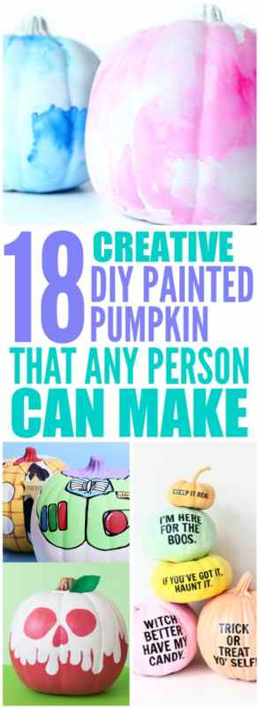 creative diy painted pumpkin ideas for thanksgiving