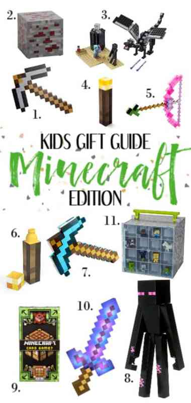Holiday gift guide for kids - Minecraft gift ideas