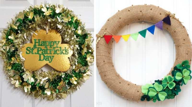 Beautiful St. Patrick's Day Wreath Ideas
