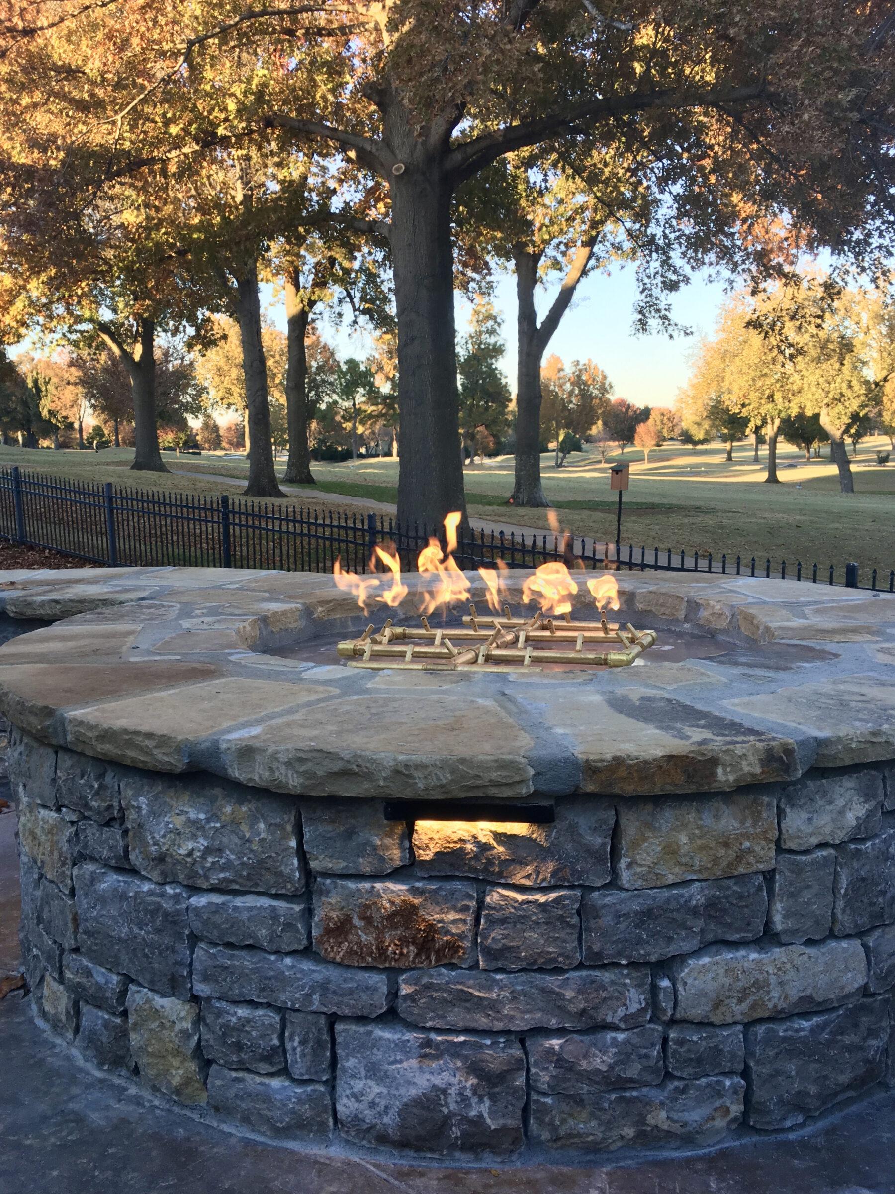 2018 11 14 Tulsa OK Golfing Community Patio Extension Firepit 701712B6CABD