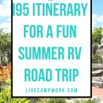i95 road trip summer ideas for RVers