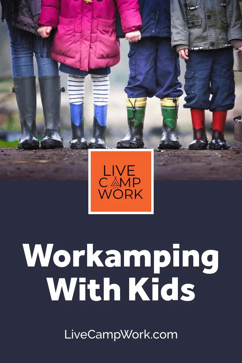 full-time families go workamping