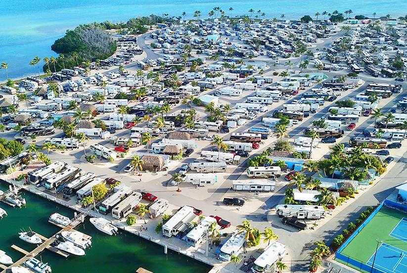 Campgrounds on Florida Keys by Thousand Trails