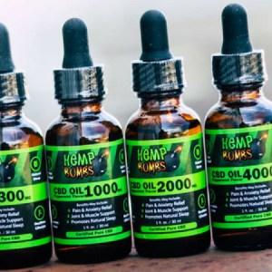 Hemps Bombs CBD Oils