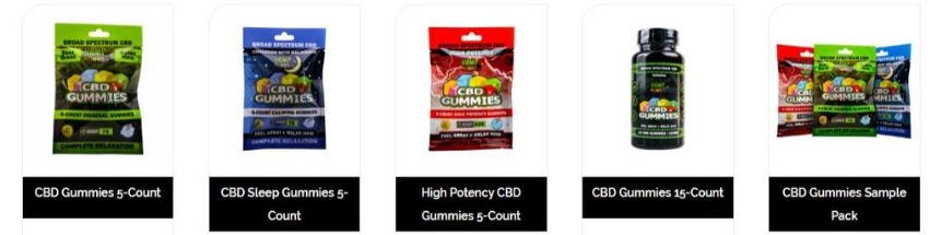 Are CBD Gummies Legal? Hemp Bombs CBD Gummy Variety