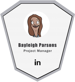 Bayleigh Parsons Live CGI Project Developer