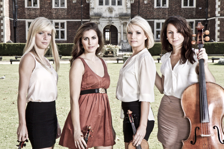 Book Classical Band in London - Diamond Strings Quartet