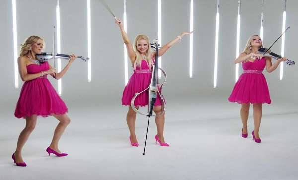 Book an all Female Strings Trio in London - Live Classical Musicians