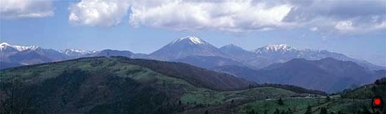 日光連山(前日光より)の写真