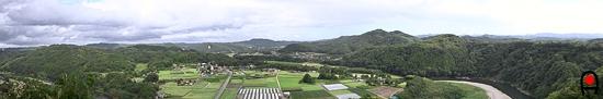 鎌倉山岩場展望台からの風景の写真
