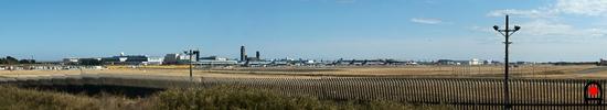 さくらの山から成田空港北側の眺めの写真