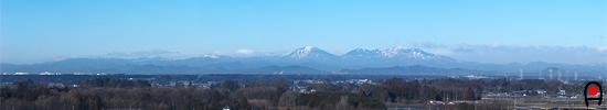冨士山自然公園からの眺めの写真