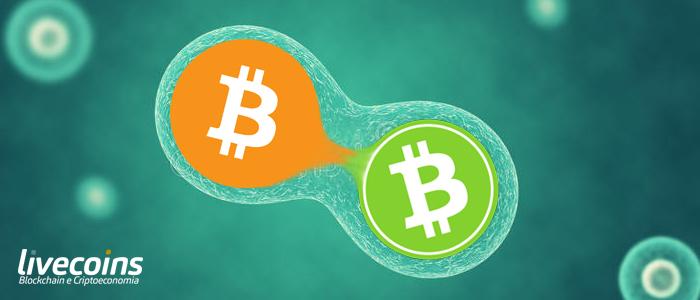 resgatar forks bitcoin