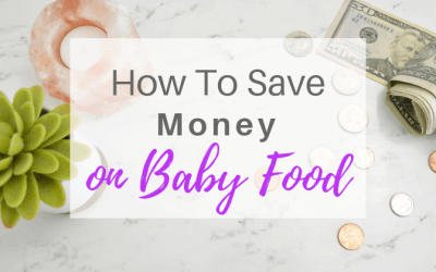 How To Save Money On Baby Food | VIDEO
