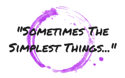 Motivational Monday 10: The Simple Things