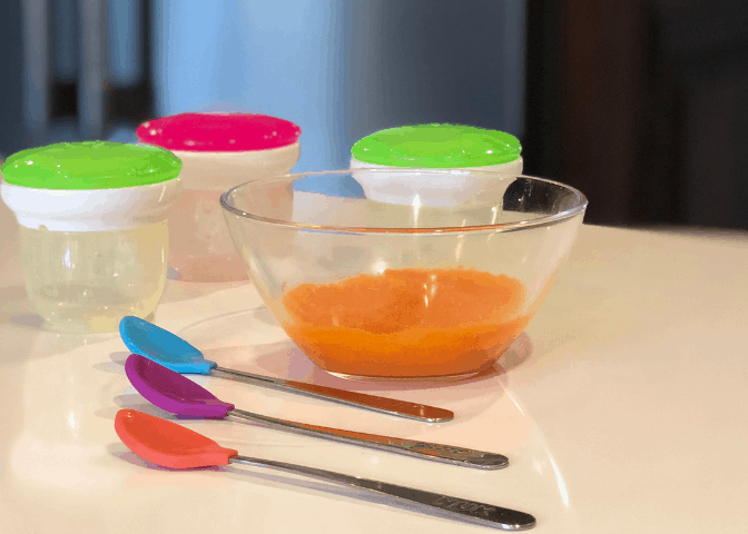 How To Make Homemade Organic Baby Food: Quick and Easy Batch Cooking | VIDEO