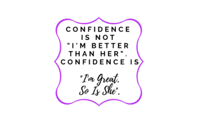 Motivational Monday Post 23: Confidence