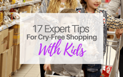 17 Expert Tips For Cry-Free Shopping With Kids