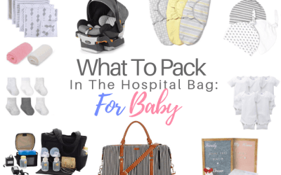 What To Pack In The Hospital Bag: For Baby