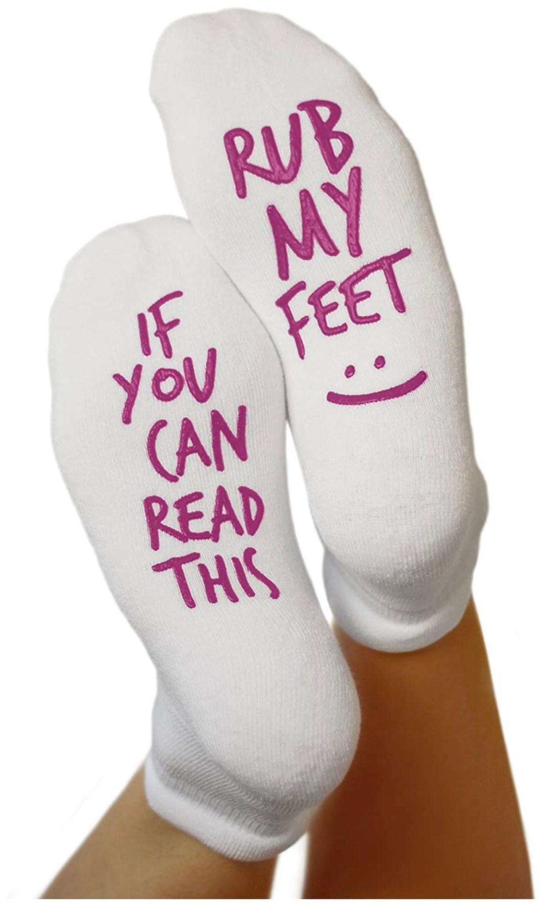 Fun Non Skid Push Socks for Maternity