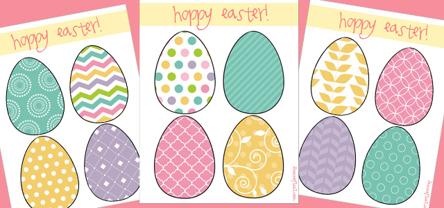 Easter Egg Printable Template Free Live Craft Eat