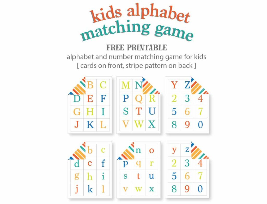 Kids Alphabet Matching Game