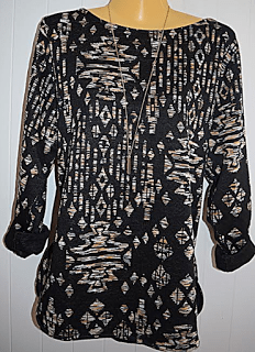Jacquard-patterned Top