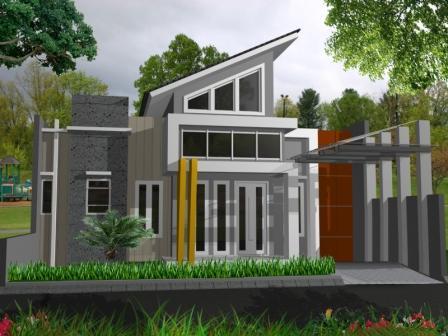 keren ! model rumah minimalis terbaru ini sederhana tapi mewah