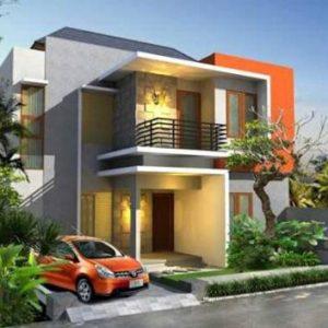 Keren Desain Tampak Depan Rumah Minimalis 2 Lantai Modern Ini