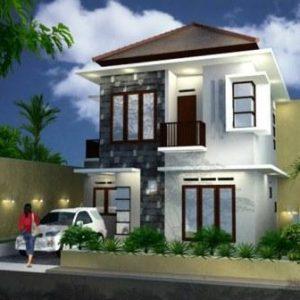 Kumpulan Model Gambar Rumah Minimalis Modern 2 Lantai