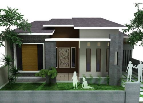 Rumah Minimalis Type 45 Modern 1 Desain Rumah Minimalis