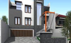 Contoh Rumah Minimalis 2 Lantai 9