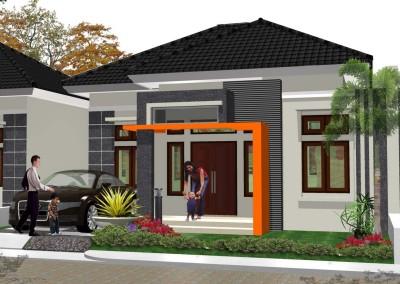 10 Bentuk Rumah Sederhana Ukuran 6x9 Terbaru Unik Desain Rumah