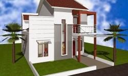 10 Bentuk Rumah Sederhana Ukuran 6×9 Terbaru