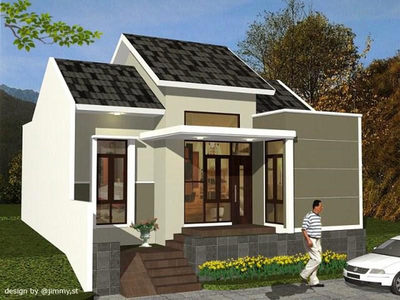 10 Model Rumah Sederhana Di Kampung Terbaru 2019