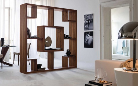 Sekat Ruang Tamu Minimalis Modern Kayu Desain Rumah Minimalis