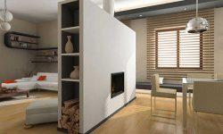 Sekat Ruang Tamu Minimalis Modern Untuk Rumah Pengantin Baru