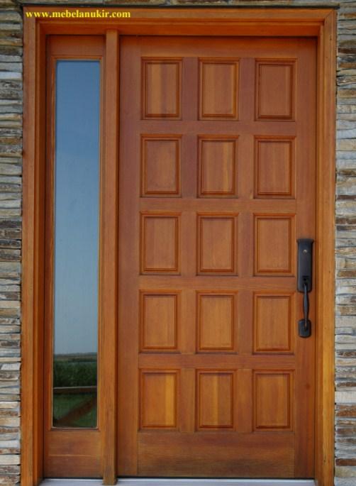 Pintu Rumah Minimalis 2 Pintu Besar Kecil Di Kampung Desain Rumah